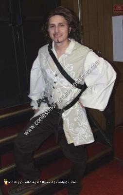 Homemade Will Turner Adult Pirate Halloween Costume Idea