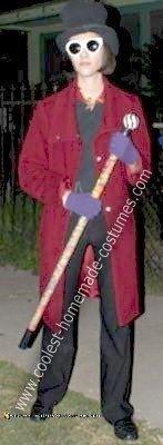 Homemade Willy Wonka Costume