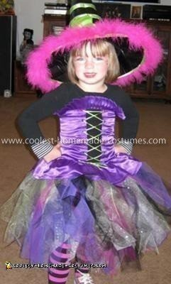 Homemade Witch Girl Costume