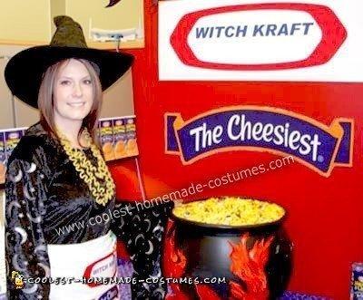 Homemade Witch Kraft Costume