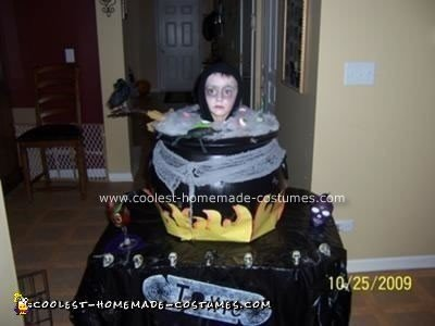 Homemade Witch's Brew Halloween Costume