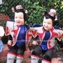 Homemade Wizard of Oz Flying Monkeys Costumes