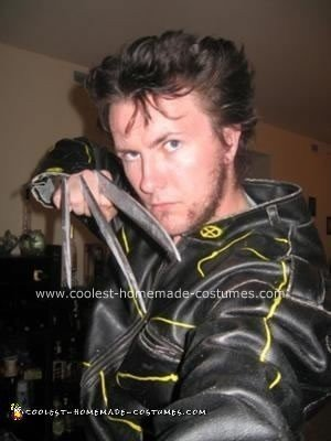 Homemade Wolverine Costume