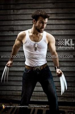 Coolest Homemade Wolverine Costume