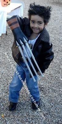 Homemade Wolverine Halloween Costume