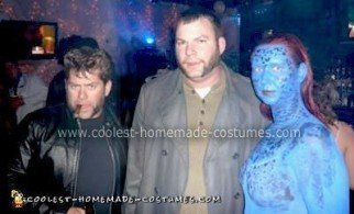 Homemade Wolverine, Sabretooth and Mystique from X-Men Costumes