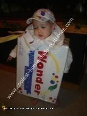 Homemade Wonder Bread Costume