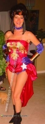 Homemade Wonder Woman Costume