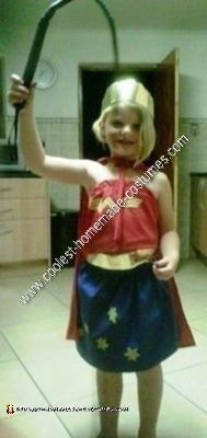 Homemade Wonder Woman Costume Idea