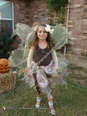 Homemade Woodland Fairy Halloween Costume Idea