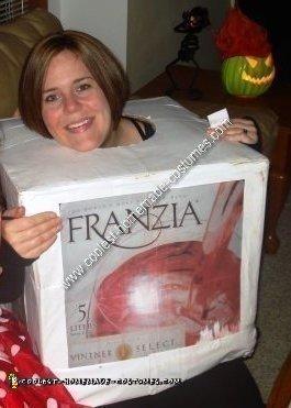 Homemade Working Boxed Wine Costume