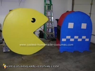 Homemade Working Pacman Costume