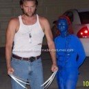 Homemade X Men Wolverine and Mystique Costume