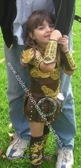 Homemade Xena Warrior Princess Costume