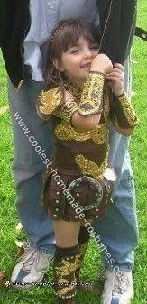 Homemade Xena Warrior Princess Costume