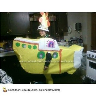 Homemade Yellow Submarine Costume