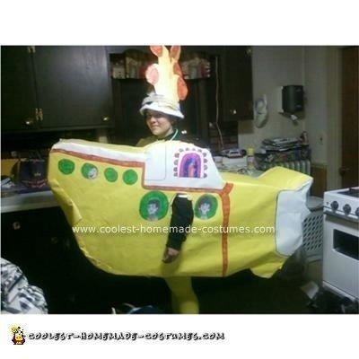 Homemade Yellow Submarine Costume