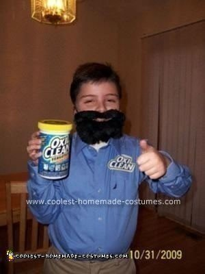 Homemade Young Billy Mays Costume