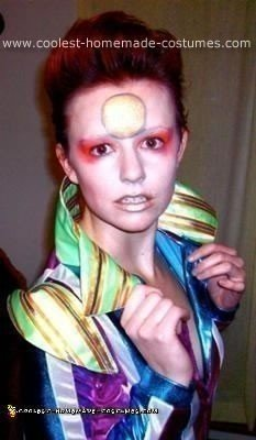 Homemade Ziggy Stardust Costume