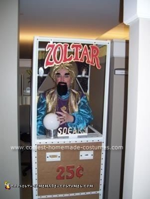 Homemade Zoltar Costume