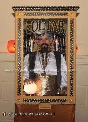 Homemade Zoltar Costume