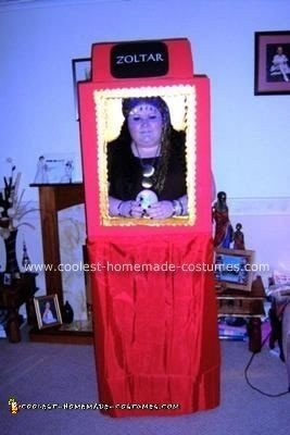 "Homemade Zoltar from the movie ""Big"" Costume"