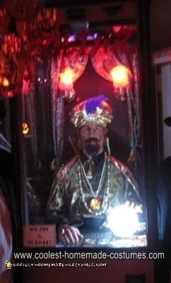 Homemade Zoltar Halloween Costume