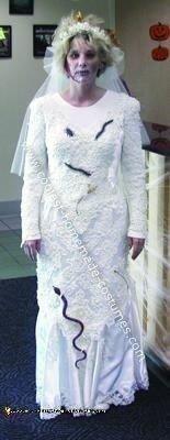 Homemade Zombie Bride Costume