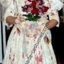 Homemade Zombie Bride Halloween Costume