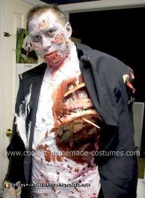 Homemade Zombie Dad Costume
