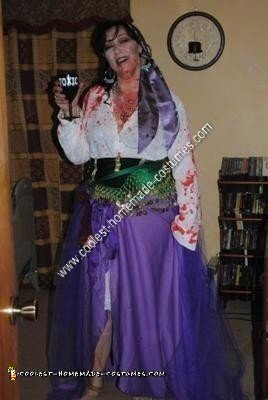 Homemade Zombie Disney Princess Esmeralda Costume