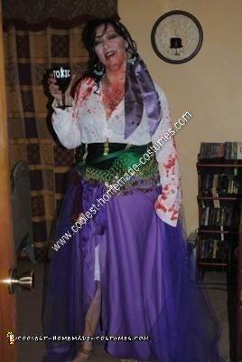 Homemade Zombie Disney Princess Esmeralda Costume