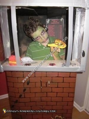Homemade Zombie Drive Thru Original Halloween Costume