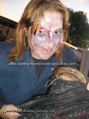 Homemade Zombie School Janitor Halloween Costume
