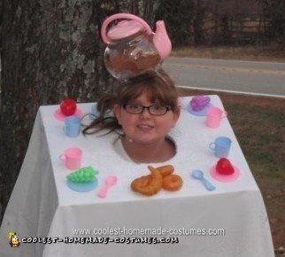 Homemade Tea Party Halloween Costume Idea