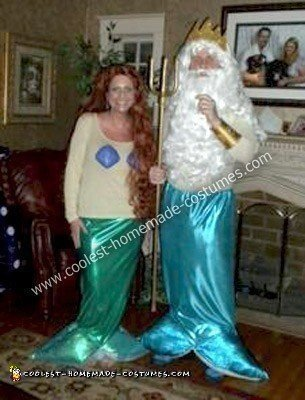 Homemde Little Mermaid Costumes