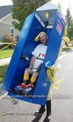 Coolest Honey Bucket Port-a-Potty Costume 17