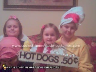 Hot Dog Vendor Costume - Get Your Hot Dogs