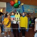 Homemade House and Carl Fredricksen From Pixar's UP DIY Costume