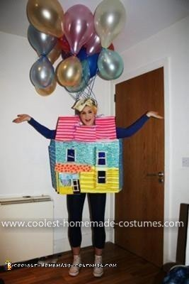 Homemade House from the Movie Up Costume