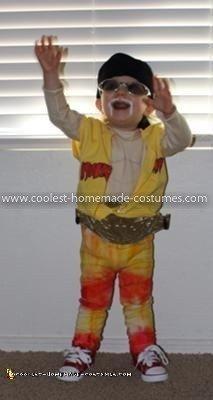 Coolest Hulk Hogan Child Costume 10