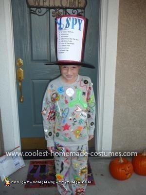 "Homemade  ""I Spy"" Costume"