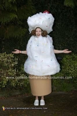 Homemade Ice Cream Halloween Costume