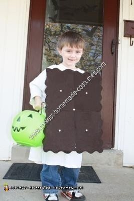 Ice Cream Sandwich Halloween Child Costume Idea