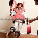 Homemade Ice Cream Truck Transformer Costume