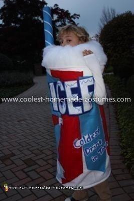 Homemade ICEE Costume