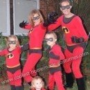 Homemade Incredibles Family Costume