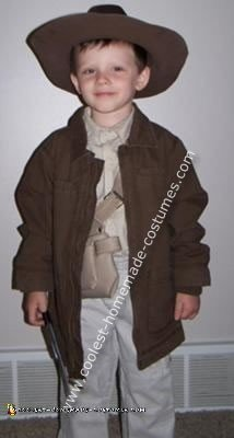 Jarrett in his Indiana Jones Costume