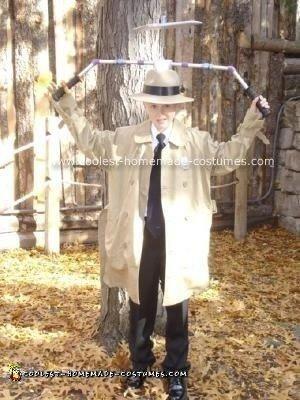 Homemade Inspector Gadget Halloween Costume