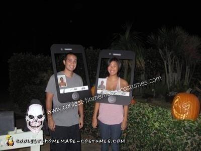 Coolest iPhone FaceTime Couple Costume